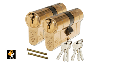 anti snap locks supplied by your local locksmith