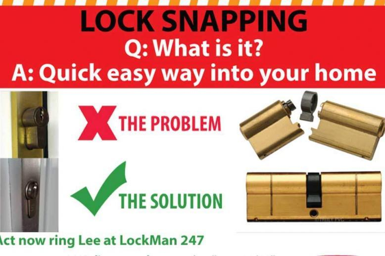 lock snapping